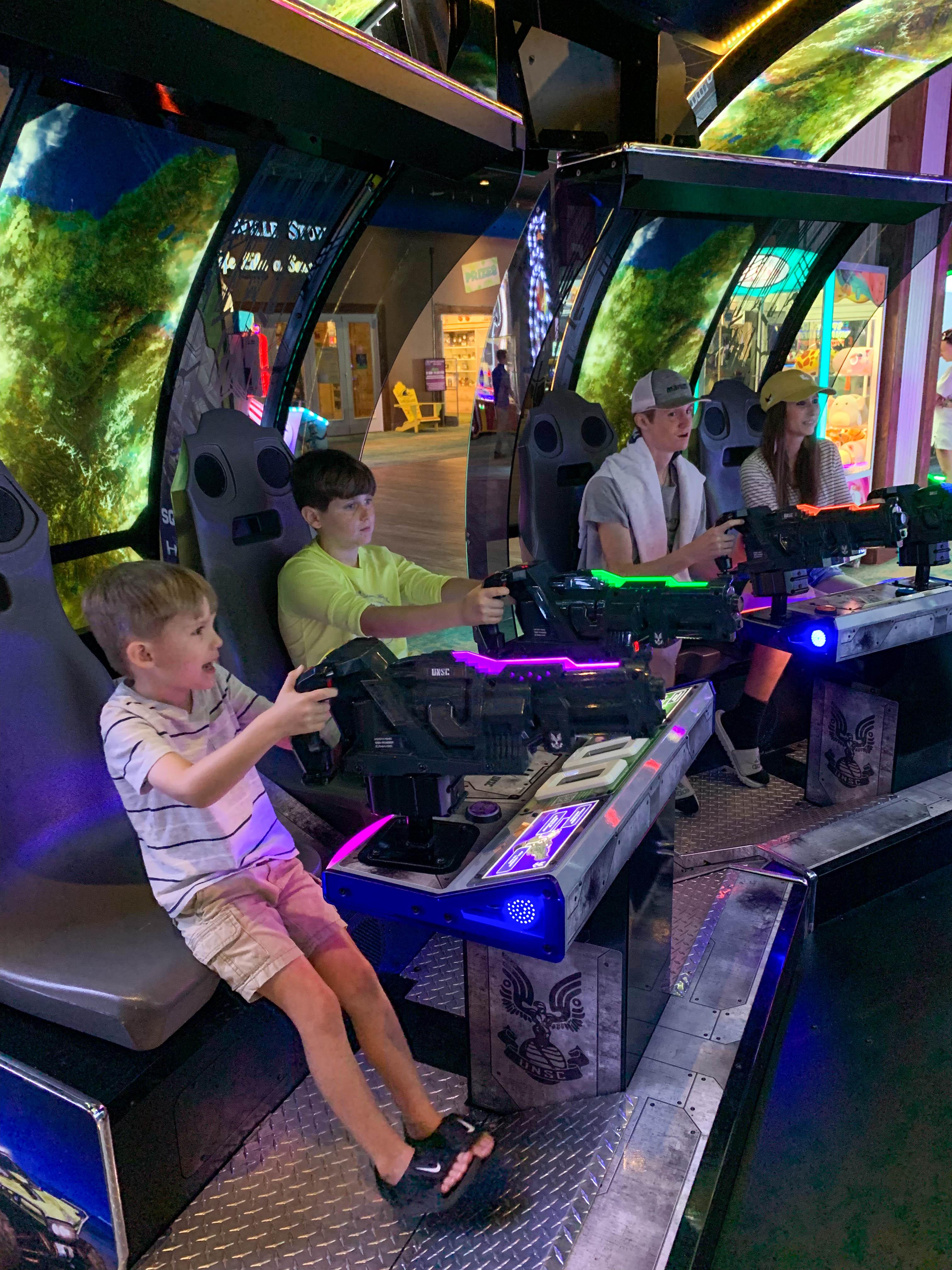 Escape Arcade'de Halo oyunu.