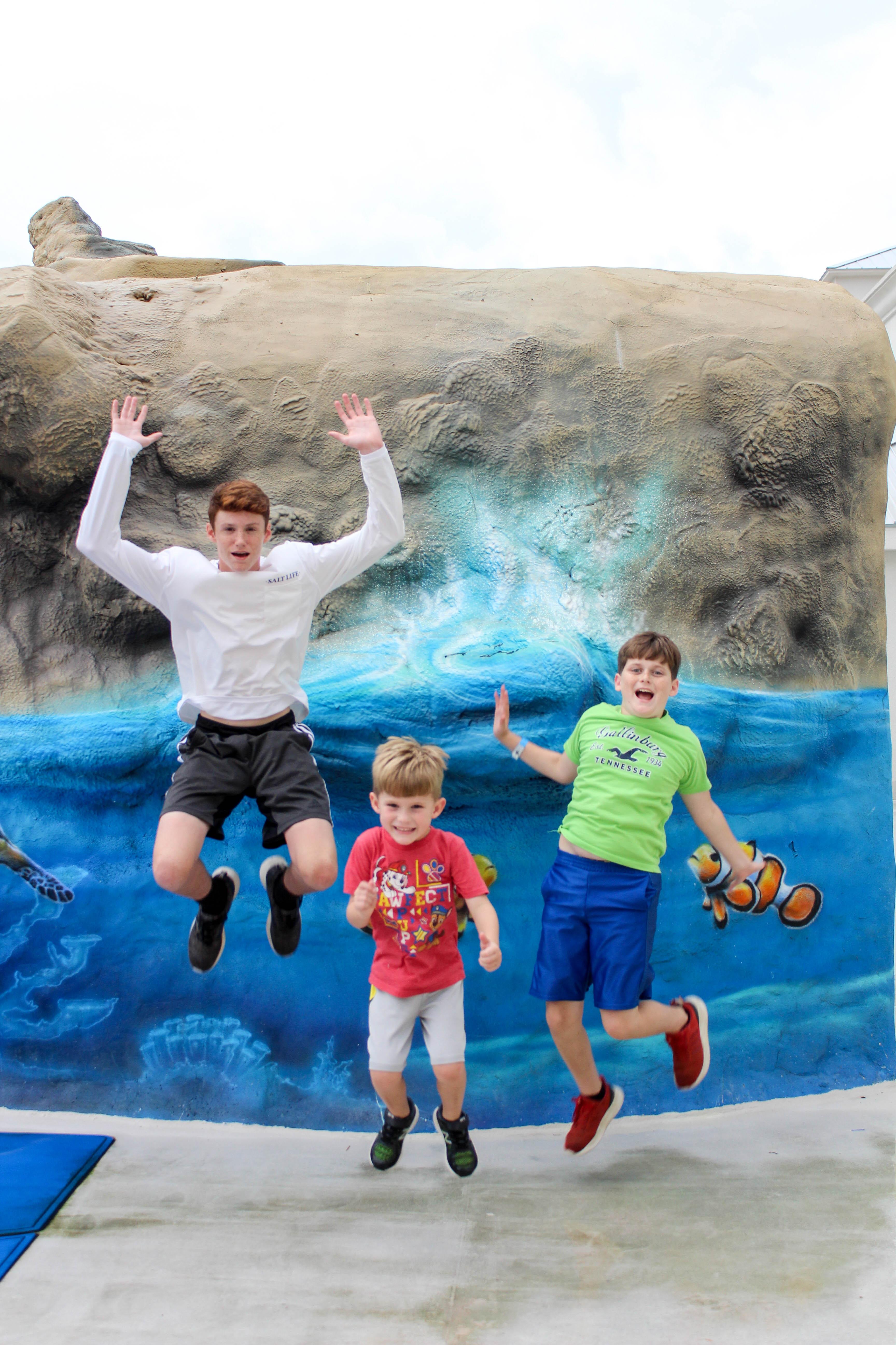 Margaritaville Biloxi'de heyecanlı çocuklar